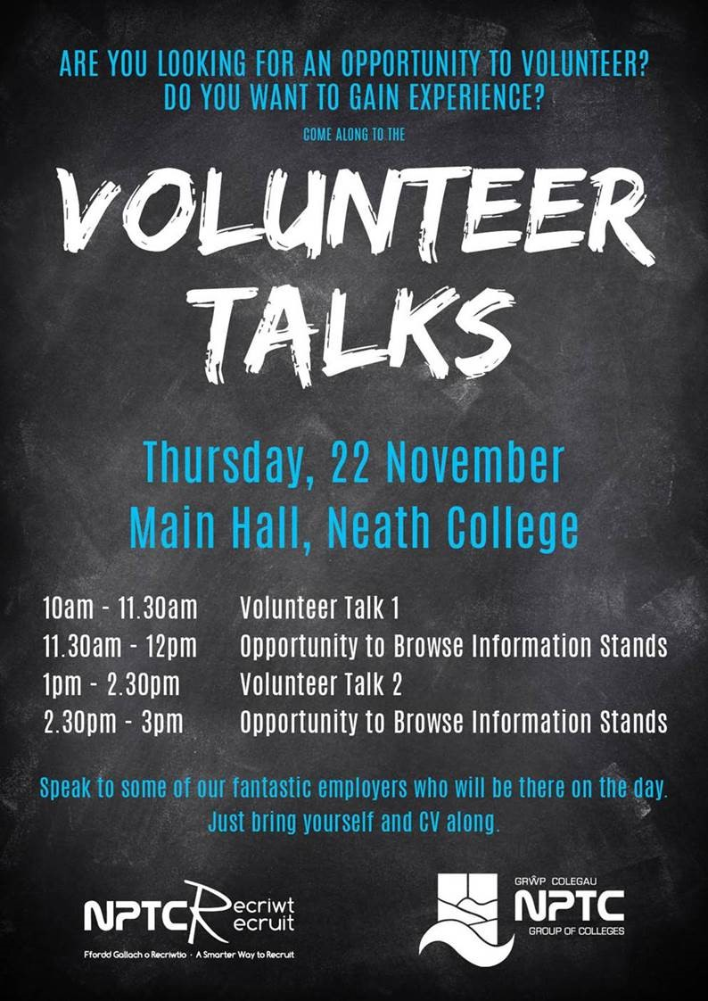 Volunteer Talks